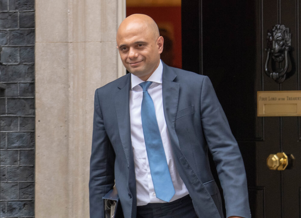 Sajid Javid backs HS2 project